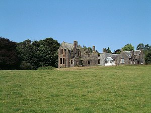 Glenlair House - Glenlair House. Parton, Dumfries and Galloway. Photo by Stuart Reid