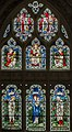Gloucester Cathedral, Stained glass window (21952962662).jpg