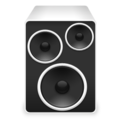 Gnome-sound-properties bw.png
