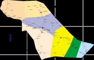 Shabelle Zone - Map of Shabelle  Zone