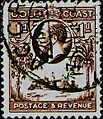 Gold Coast Stamp George V 1 d.jpg