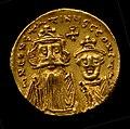 Gold Solidus of Constans II (641–68) MET tem04353355o.jpg