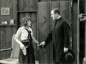 William Conklin - Louise Glaum and William Conklin in Golden Rule Kate (1917)