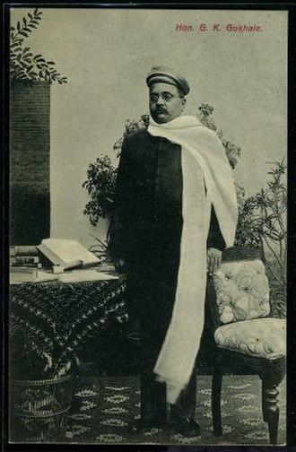 Gopal Krishna Gokhale - Portrait