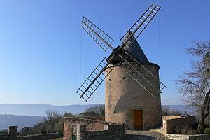 Goult - Image: Goult Moulin 1