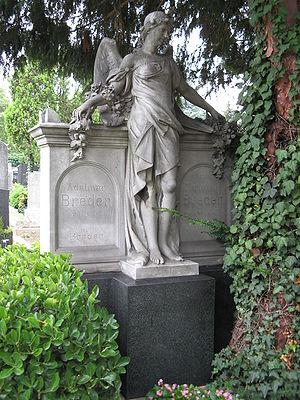 Matzleinsdorf Protestant Cemetery - Image: Grab von Ada Christen