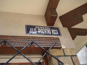 Gral. Julio A. Roca Street - Florida