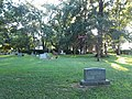 Graves and church, Westover Church.jpg