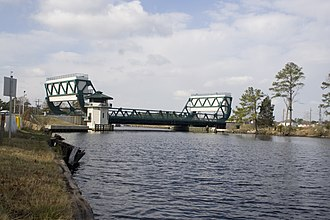 National Register of Historic Places listings in Chesapeake, Virginia - Image: Great Bridge, Bridge (080115 A 5177B 001)