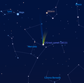 Great Comet of 1811, Stellarium.png