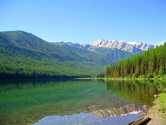 Great Bear Wilderness - Great Northern behind Stanton Lake