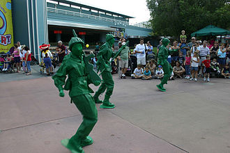 Disney Stars and Motor Cars Parade - Toy Soldiers from Toy Story