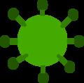 Green Virus Public Domain.png