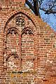 Greifswald Klosterruine Eldena West Südseite Blende 2014-11-30.jpg