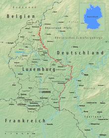 luxemburg deutschland karte Grenze zwischen Deutschland und Luxemburg – Wikipedia