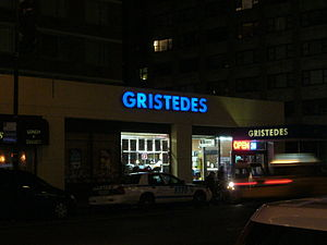 Gristedes - A typical Gristedes location in Manhattan.
