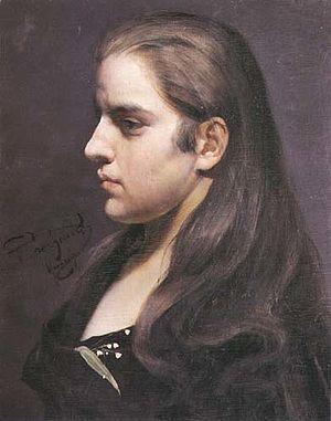 Stanisław Grocholski - Image: Grocholski Portret dziewczyny z konwalią