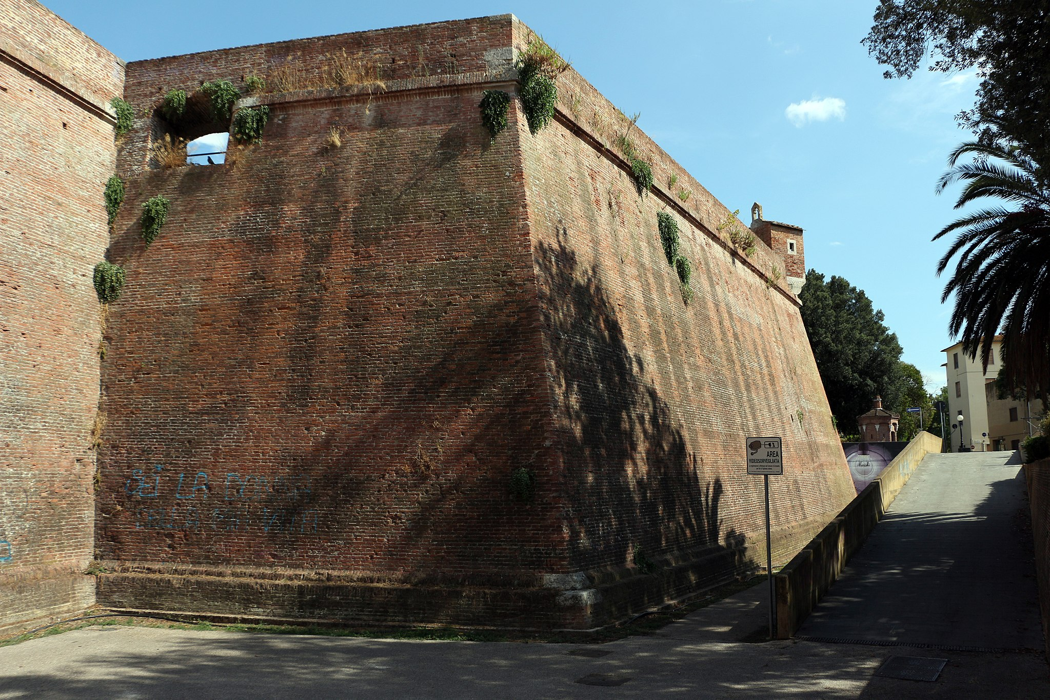 Grosseto, old center and Medici walls, 'cassero senese'