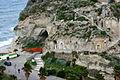 Grottoes - Santa Maria dell'Isola seen from Via Indipendenza - Tropea - Italy 2015 (2).JPG