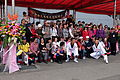 Group Portrait of Republic of China Reserve Basketball Association in Keelung Naval Pier Review Stand 20150316.jpg