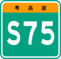 Guangdong Expwy S75 sign no name.png