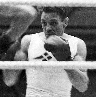 Gunnar Berggren Swedish boxer