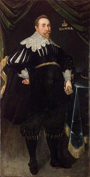 Jacob Heinrich Elbfas - Portrait of Gustavus II Adolphus, 1630
