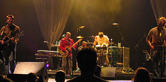 Guster - Guster playing a show in Boston in 2004