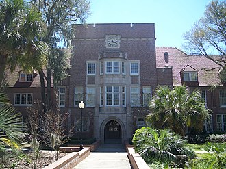 University of Florida College of Education - Norman Hall, home of the College of Education