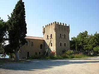 Gytheio - Old tower.