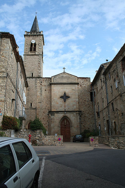 Hérépian (Hérault) - église Saint-Martial.