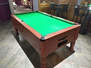 Hôtel de la Cloche (Dole) - Table de billard.jpg