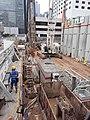 HK 中環 Central 夏慤道 Harcourt Road 和記大廈 Hutchison House construction site May 2020 SS2 06.jpg