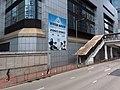 HK 香港電車遊 Tram tour view 金鐘 Admiralty Queensway Police HQ footbridge July 2019 SSG 06.jpg