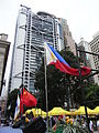 HK Central 中環 遮打道 Chater Road flags view HSBC HQ July-2012.JPG