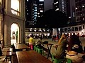 HK Central night 舊中區警署 Ex-Central Police Station outdoor square Friday October 2018 SSG 01.jpg