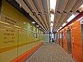 HK PolyU Hung Hom Bay Campus 8 Hung Lok Road HKCC lift lobby interior Mar-2013.JPG