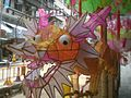 HK SYP Queen's Road West Mid-Autumn Festival Lanterns 09 龍 Dragon.JPG