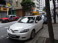 HK Sheung Wan 上環 樂古道 Lok Ku Road carparking Mazda 3S June-2012.JPG