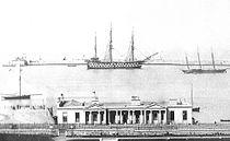 HMS AJAX AT KINGSTOWN.jpg