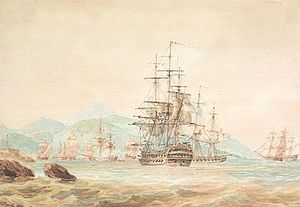 HMS Agamemnon cuts out French.jpg