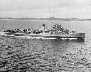 36 Electric Range >> HMS Balfour (K464) - Wikipedia