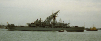 HMS Sirius (F40) - Image: HMS Sirius F40