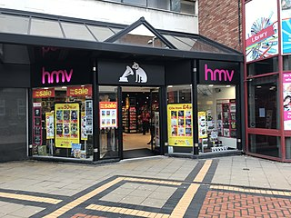 HMV Public entertainment retailing company
