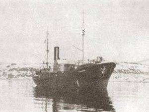 HNoMS Honningsvåg - HNoMS Honningsvåg sometime during the Second World War.