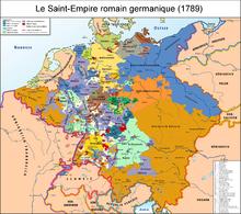 Elle comprend l'Allemagne actuelle, plus une partie des territoires polonais de la Prusse, ainsi que l'Autriche, la Slovénie et la République Tchèque actuelle. Tous les territoires de l'Empire autrichien ne font pas partie de la confédération.