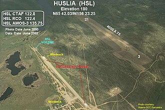 Huslia, Alaska - Image: HSL m