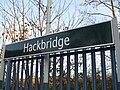 Hackbridge station signage.JPG