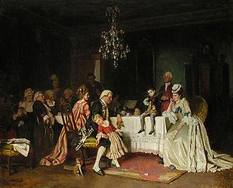 Gabriel von Hackl - Das Wunderkind, 1874