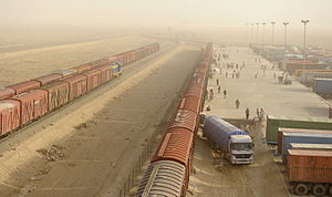 Hairatan to Mazar-e-Sharif Railway Project in Afghanistan